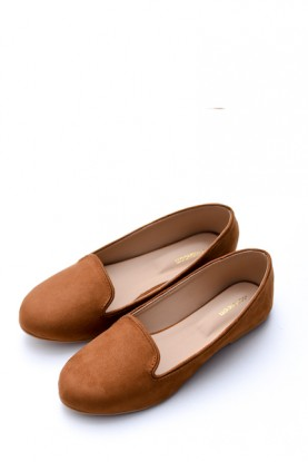 Camel Brown Loafers