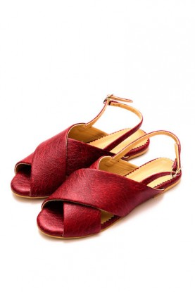 Red Crossover Sandal (Limited Edition)