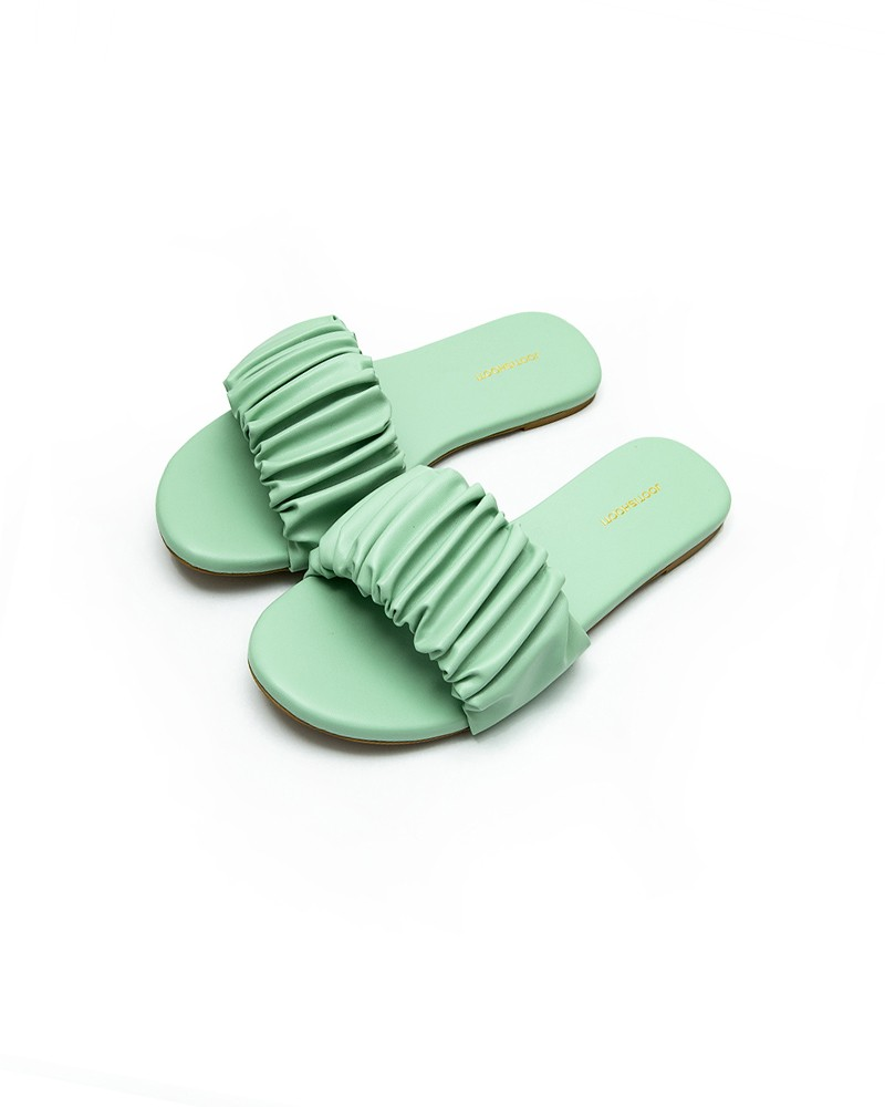 Scrunch It Up Mint Green