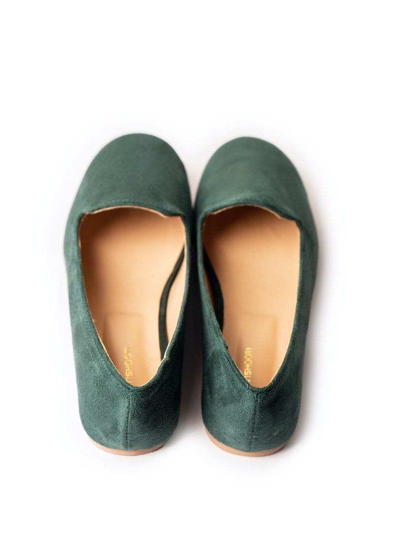 Forest Green Loafers