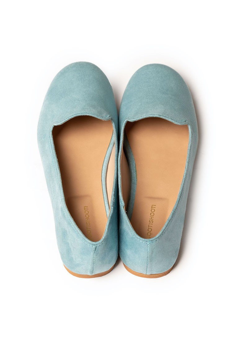 Sky Blue Loafers