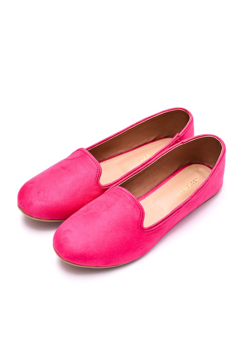 Pink Loafers