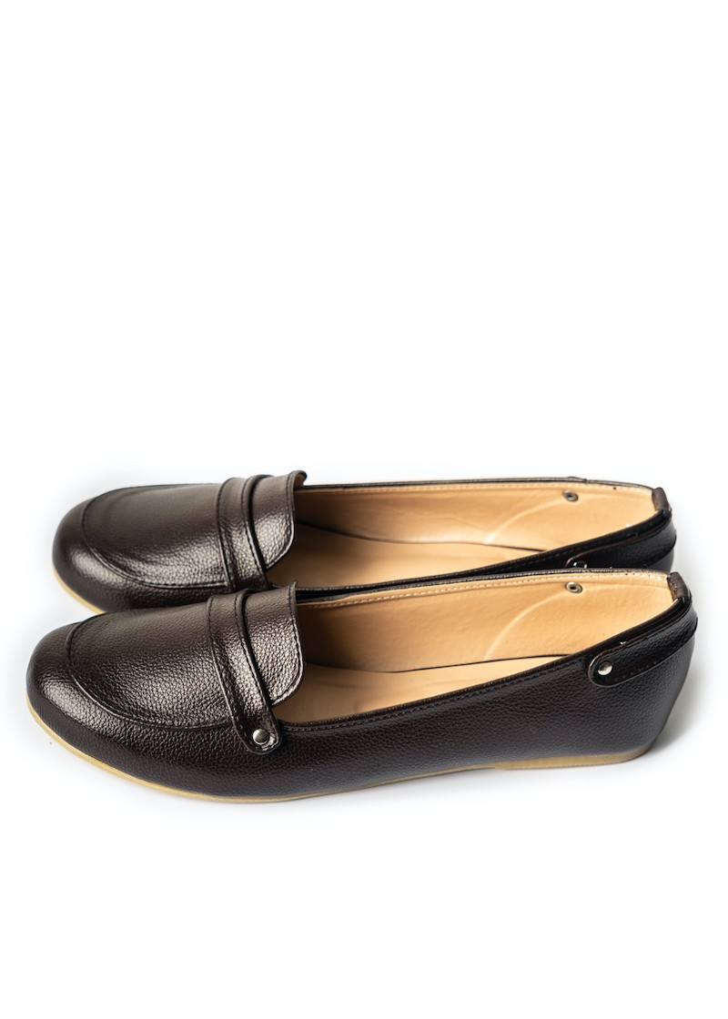 Boss Lady Loafers Brown