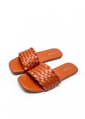 Weave Slides Orange