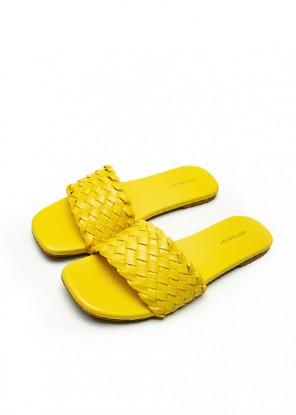 Weave Slides Yellow