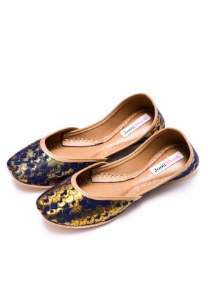 Navy Blue Brocade (Limited Edition)