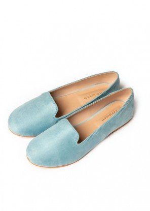 Sky Blue Loafers