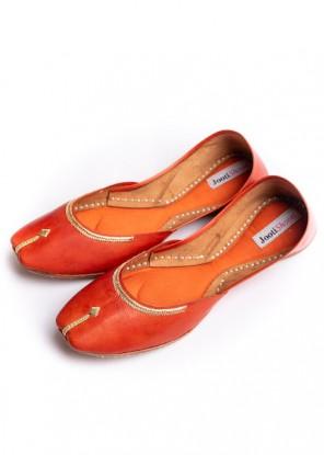 Orange Zarri Khussa