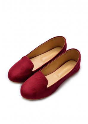 Ruby Red Loafers