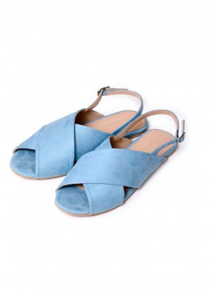 Skyblue Crossover Sandal