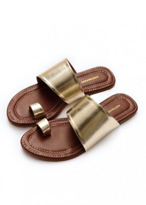 Gold Edgy Slides