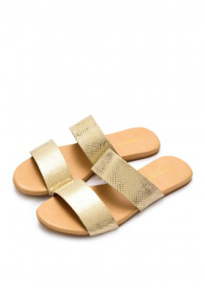 Glistening Gold Slides (Limited Edition)