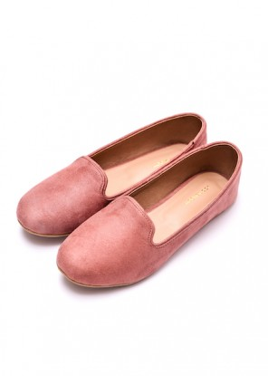 Tea Pink Loafers
