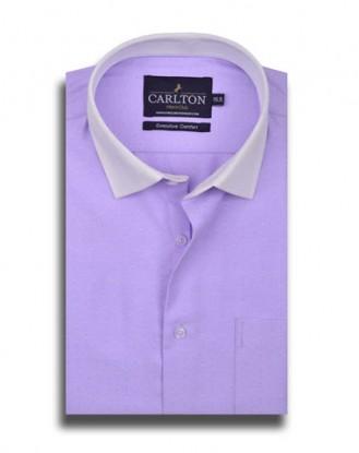 Light Purple Dress Shirt with French Cuff